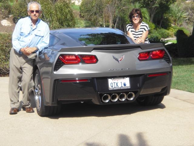 Alan & Marcia's 2016 shark grey metallic C7 coupe