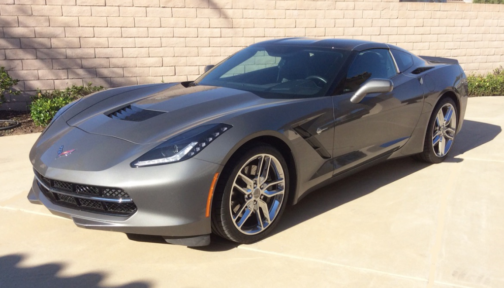 Dash & Elissa's 2015 Shark Gray C7 Stingray