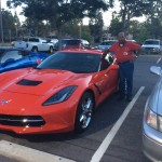 George's red 2015 C7