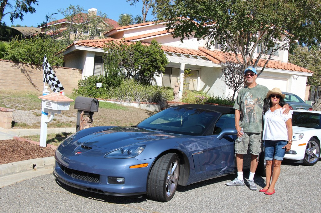 Gerry & Angie;s 2012 C6 blue coupe