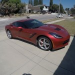 John's 2014 C7 red coupe