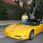Judy & Dan's 2002C5 yellow convertible