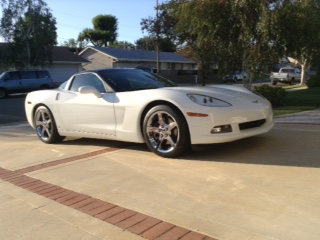 Ken & Kim's 2008 White C6 Coupe