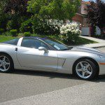 Marvin & Francine's silver 2007 C6 Coupe