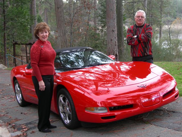 Mel & Nancy's 2002 convertible