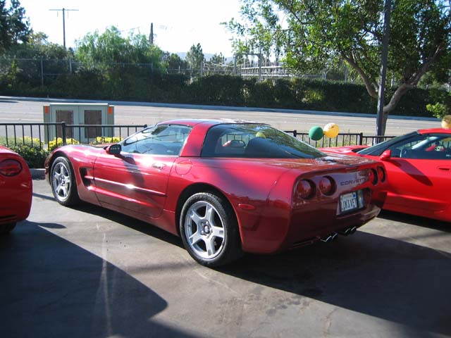 Nancy & Larry's 1999 coupe
