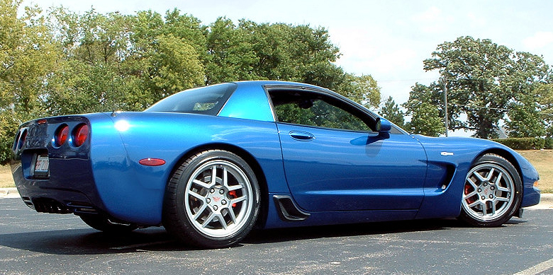 Randy & Linda's 2002 C5 blue coupe