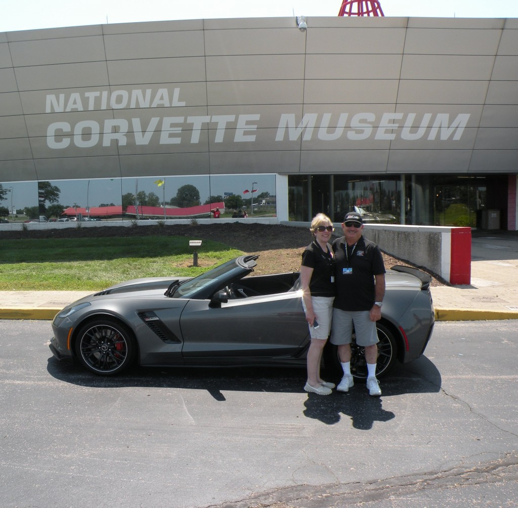 Skip & Marilyn's 2016 Shark Grey Metallic Z06
