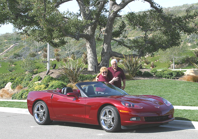 Tom & Dee's 2005 convertible